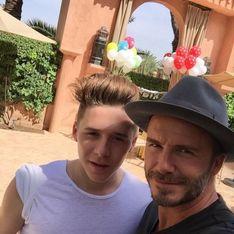 Quand David et Brooklyn Beckham se bagarrent (Photos)