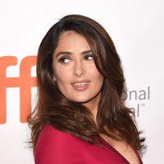 Salma Hayek en décolleté sexy pour la couverture de ELLE US (Photo)