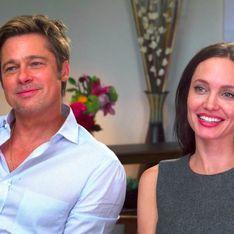 Angelina Jolie et Brad Pitt donnent une interview très rare ensemble