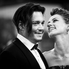 Johnny Depp et Amber Heard couple glamour et rétro sur le tapis rouge (Photos)