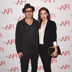 Brad Pitt et Angelina Jolie, tendres amoureux pour Vanity Fair (Photo)