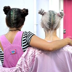 Glitter hair, llena tu pelo de purpurina