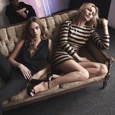 Cara Delevingne et Kate Moss, envoûtantes pour le Noël Mango