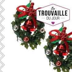 Des boucles d'oreilles kitsch et cool pour Noël