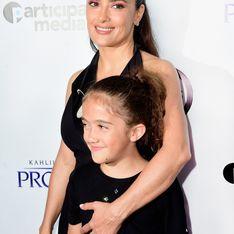 La fille de Salma Hayek laisse pousser ses cheveux pour une noble cause