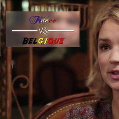 Le match France VS Belgique de Virginie Efira (Vidéo)