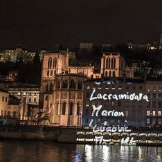 A Lyon, la Fête des Lumières se transforme en hommage aux victimes des attentats à Paris (Photos)