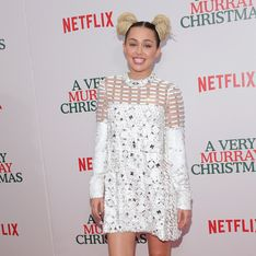 Miley Cyrus change de look pour les fêtes (Photo)