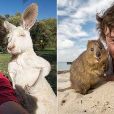 Tierflüsterer der etwas anderen Art: Diese Selfies müsst ihr gesehen haben