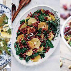 Mit Kürbis, Granatapfel oder Birnen: Wintersalat - dreimal anders, dreimal lecker!