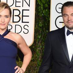 Leonardo DiCaprio et Kate Winslet câlins aux Golden Globes 2016 (Vidéo)