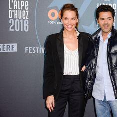 Mélissa Theuriau et Jamel Debbouze complices au festival de l'Alpe d'Huez (photos)
