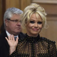 Pamela Anderson agite l'Assemblée nationale contre le gavage des oies (Photos)