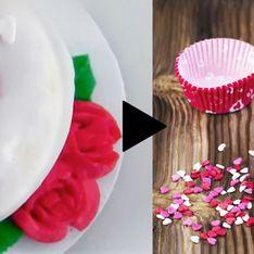 Comment transformer des muffins tout simples en véritables cupcakes d'amour ?