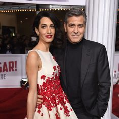 George et Amal Clooney amoureux sur le red carpet (Photos)