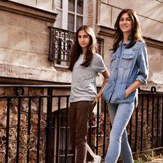 Charlotte Gainsbourg et Alice, mère et fille décontractées pour Comptoir des Cotonniers x J Brand
