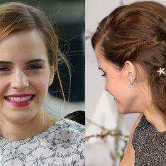 12 idées coiffure simplissimes qu'on pique à Emma Watson