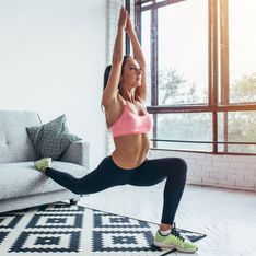 Genialer Trainingsplan für zu Hause: So bleibst du fit!
