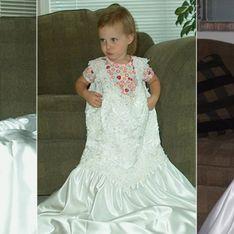 Diese Mama fotografiert ihre Tochter jedes Jahr in ihrem Hochzeitskleid - die Ergebnisse sind erstaunlich