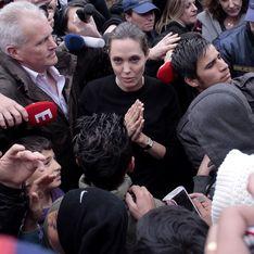 Le poignant appel d'Angelina Jolie pour les réfugiés (Photos)