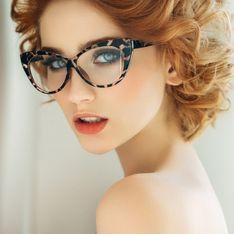 Los peinados más favorecedores para chicas con gafas
