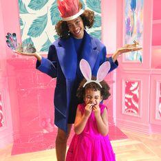 Beyoncé, Solange et Blue Ivy fêtent le printemps avec style