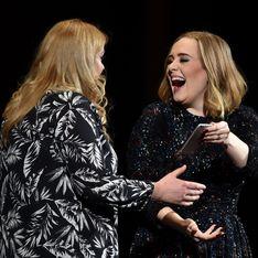 Adele invite son sosie sur scène (Photo)