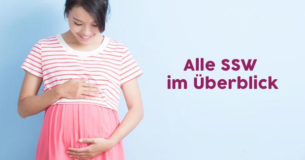 Die 8 Ssw Schwangerschaftswoche Auf Einen Blick