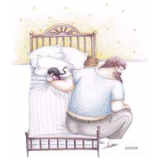 Las 14 ilustraciones más emotivas de la relación padre e hija