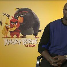 Omar Sy et Audrey Lamy jouent les piafs dans Angry Birds (Interview)