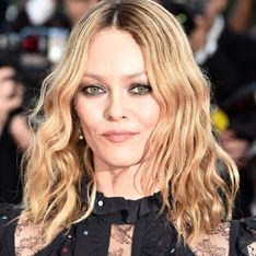 Vanessa Paradis et son beautylook rock à Cannes
