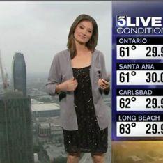 Une miss météo se rhabille en direct sur ordre des téléspectateurs