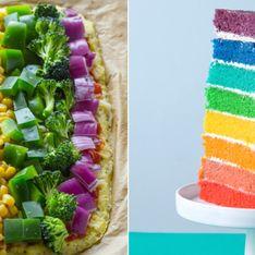 Kochen & backen wie Einhörner: Wir ♥ den aktuellen Regenbogen-Foodtrend