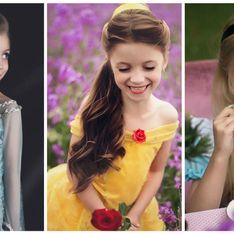 Elle transforme sa fille en personnages Disney et c'est MAGIQUE (Photos)