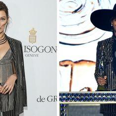 Bella Hadid VS Beyoncé : Qui porte le mieux le smoking bling-bling Givenchy ?