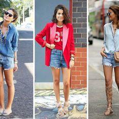 On adopte le short en jean avec les conseils de Pinterest (Photos)