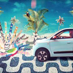 Renault présente sa nouvelle série limitée Twingo Hipanema pour un été bohème