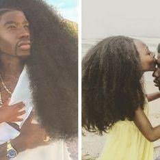 Les incroyables chevelures de ce père et sa fille cachent un très beau message