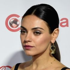 Mila Kunis pose sans maquillage en couverture de Glamour (Photo)