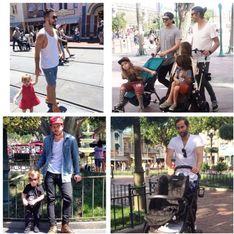 Les papas sexy à Disneyland, le compte qui enflamme Instagram