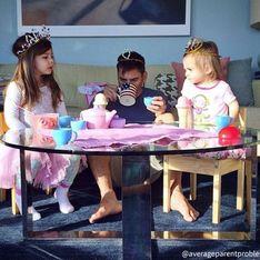 ¡Es genial! Esta cuenta de Instagram muestra el día a día de los padres con niños pequeños en casa