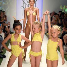 Une marque accusée de sexualiser les enfants pour les avoir fait défiler en bikinis