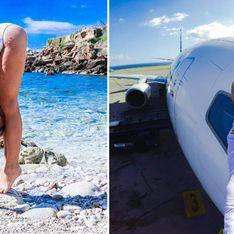 Traumstrände und Yoga-Posen: Die Selfies dieser Pilotin erobern das Netz