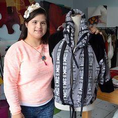 Une styliste atteinte de trisomie fait son entrée dans la fashion sphère et prend sa revanche sur la vie (Photos)