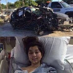 Cette maman adresse un message à l'automobiliste ivre qui a failli la tuer
