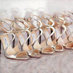 5 paires de chaussures de mariée pour chausser vos jolis pieds