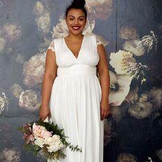 Novias curvy: claves para elegir el vestido de boda perfecto