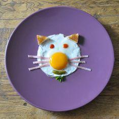 Recette : l'oeuf au plat rigolo pour les enfants