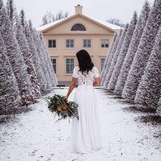 Winterhochzeit: So sagt ihr in der kalten Jahreszeit wunderschön Ja