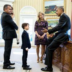 A 6 ans, ce petit garçon a rencontré Barack Obama grâce à une lettre qu'il lui a écrite (Photos)